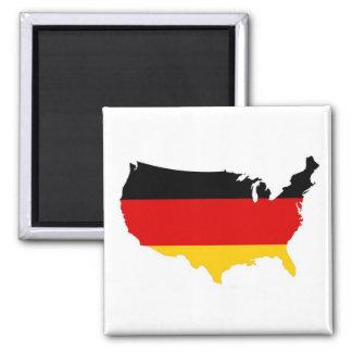 Americano alemán iman para frigorífico