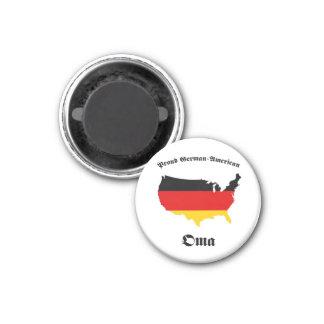 Americano alemán Oma - abuelita - abuela Imán