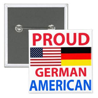 Americano alemán orgulloso pin