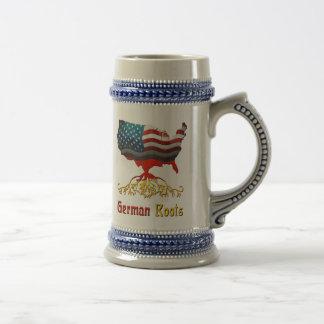 Americano alemán Stein Tazas De Café