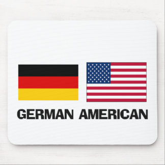 Americano alemán tapete de ratón