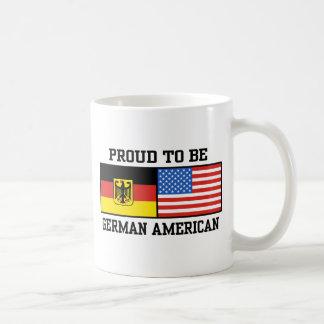 Americano alemán taza