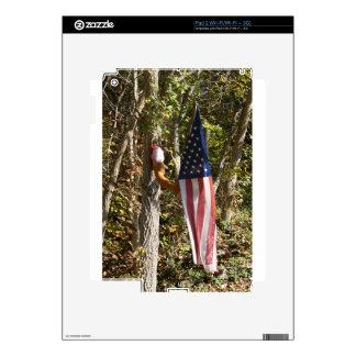Americano americana de la diversión del tenedor de calcomanía para el iPad 2