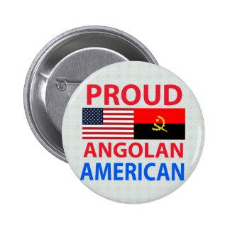Americano angolano orgulloso pins