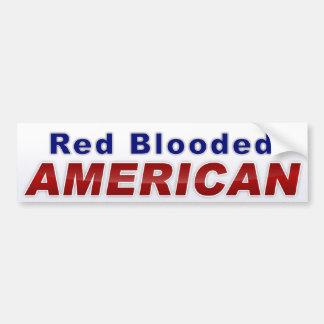 Americano animoso pegatina de parachoque
