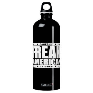 AMERICANO ANORMAL - advirtiendo: Soy un patriota Botella De Agua