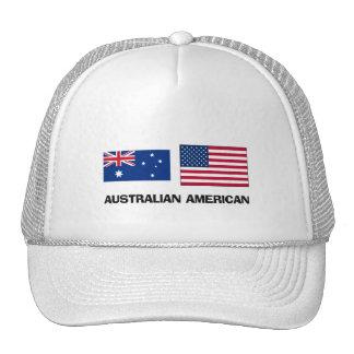 Americano australiano gorras