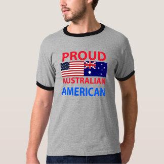 Americano australiano orgulloso camisas