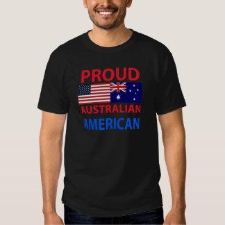 Americano australiano orgulloso poleras
