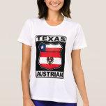 Americano austríaco de Tejas Camiseta