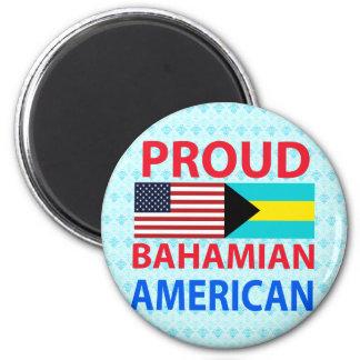 Americano bahamés orgulloso iman para frigorífico