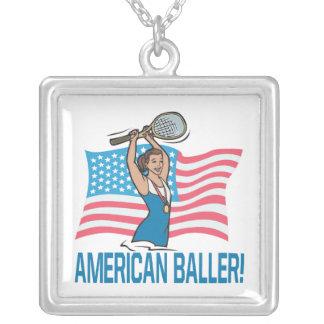 Americano Baller Colgante Cuadrado