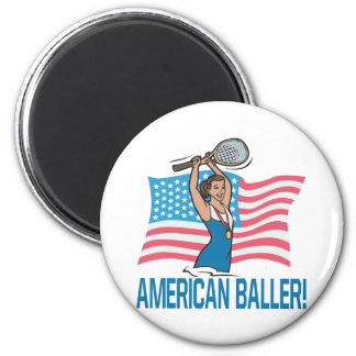 Americano Baller Imanes Para Frigoríficos
