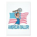 Americano Baller Invitación 12,7 X 17,8 Cm