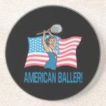 Americano Baller Posavasos Personalizados