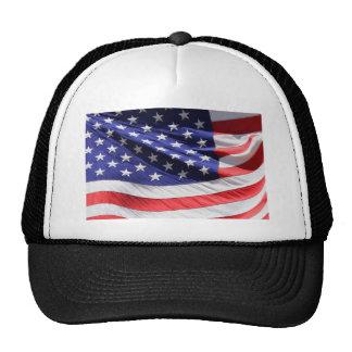 Americano-bandera-Plantilla Gorro