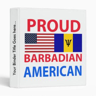 Americano barbadense orgulloso