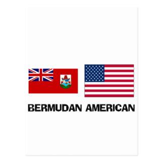 Americano bermude6no postal