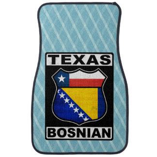 Americano bosnio de Tejas Alfombrilla De Auto