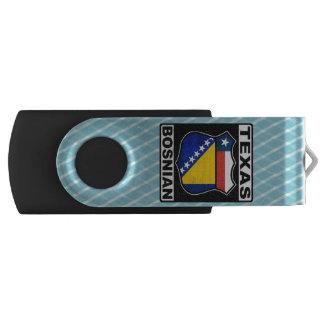 Americano bosnio de Tejas Memoria USB