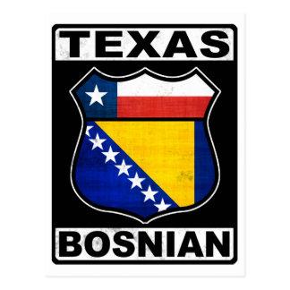 Americano bosnio de Tejas Postales