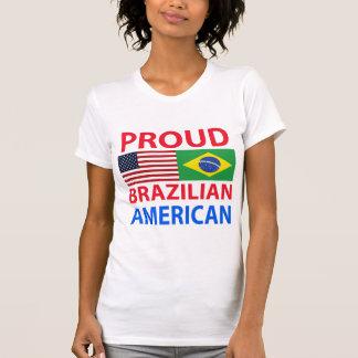 Americano brasileño orgulloso poleras