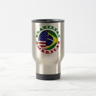 americano brasileño tazas de café