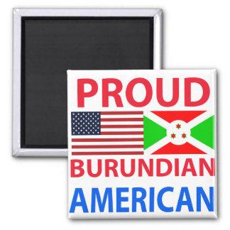 Americano burundés orgulloso iman