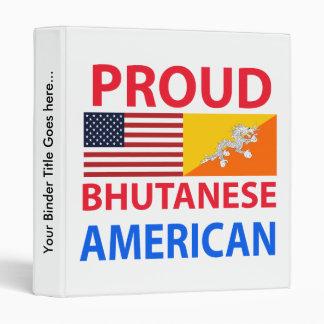 Americano butanés orgulloso