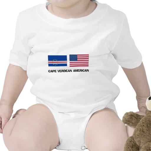 Americano caboverdiano camiseta