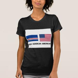Americano caboverdiano camisetas