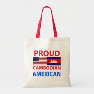 Americano camboyano orgulloso bolsas