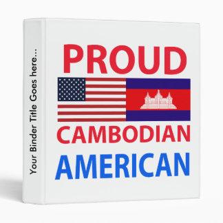 Americano camboyano orgulloso