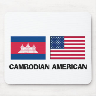 Americano camboyano tapetes de ratones