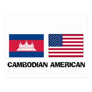 Americano camboyano postal