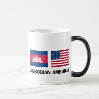 Americano camboyano taza