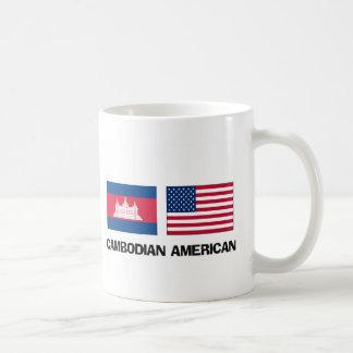 Americano camboyano taza de café
