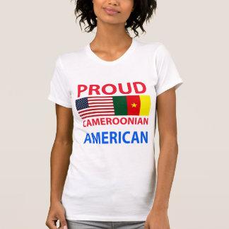 Americano camerunés orgulloso camiseta