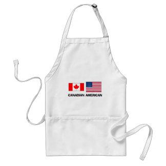 Americano canadiense delantal