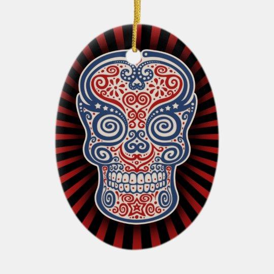 Americano Ceramic Ornament
