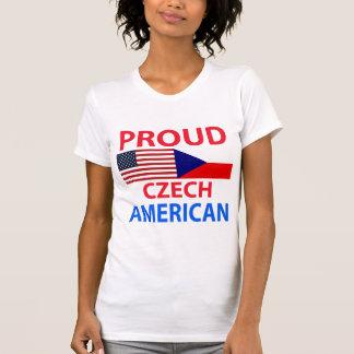 Americano checo orgulloso playera
