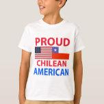 Americano chileno orgulloso playera