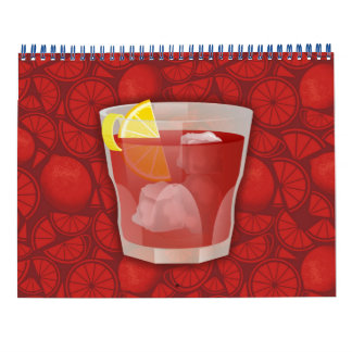 Americano cocktail calendar