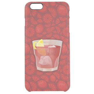 Americano cocktail clear iPhone 6 plus case