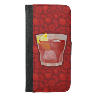 Americano cocktail iPhone 6/6s plus wallet case