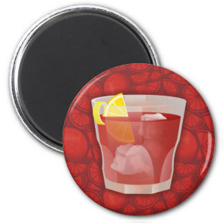 Americano cocktail magnet