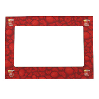 Americano cocktail magnetic frame