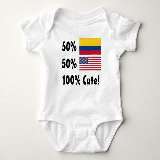 Americano colombiano del 50% el 50% el 100% lindo poleras