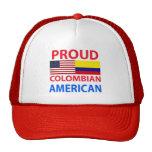 Americano colombiano orgulloso gorra