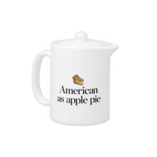 Americano como empanada de Apple